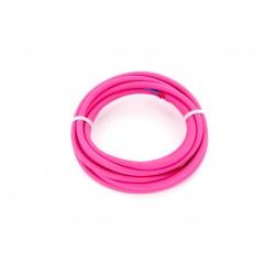 HO3VV-F cabo 2 x 0,75 mm2 - 3 m - tecido rosa