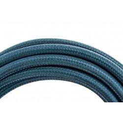 HO3VV-F 2 x 0,75mm2 cabo - 3m - tecido azul pavão