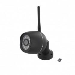 Câmera IP Wi-Fi exterior - 1080P compatível com Google Home e Alexa + novo aplicativo: myChacon