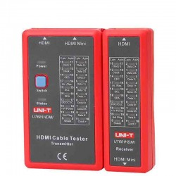 Testador de Cabos Ethernet/Telefone/BNC/HDMI