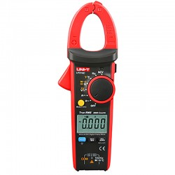 Pinça Amperimétrica Digital True RMS 600A