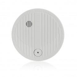 Detector óptico de fumo sem fio com bateria alcalina de 9V -3 anos. Compativel 34942, 34949