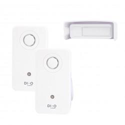 DIO Kit Design Campainha sem fios com 2 receptores - 200m