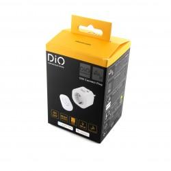 Tomada de conexão DiO e controle remoto WiFi + 433 MHz (3000W, FR) (versão SCH)