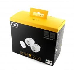 2 tomadas de conexão DiO e controle remoto (versão SCH) WiFi + 433 MHz (3000W, FR)