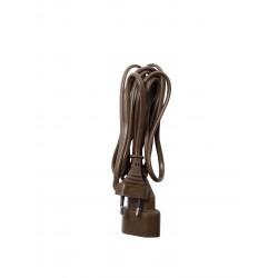 Prolongateur H03VVH2F 2 x 0,75mm2 2,5 A - 5 m - brun (SCH)