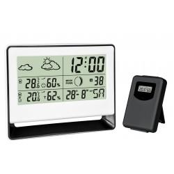 Estação meteorológica com sensor externo sem fio